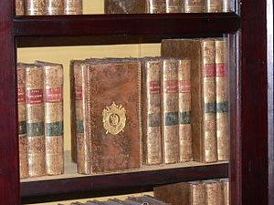 Supralibros - Books from Napoleon Bonaparte's library with his supralibros