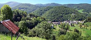 Alos, Ariège - A general view of Alos