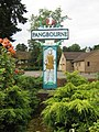 Village name sign - Pangbourne - geograph.org.uk - 218346.jpg