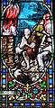 Villeréal - Église Notre-Dame - Vitrail de scènes de la Genèse -3.jpg