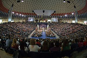 Vines Center - Image: Vines Center Convocation
