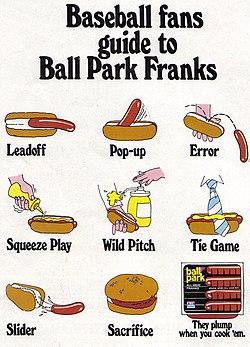 Vintage Ad -780- Baseball Fans Guide to Ball Park Franks (3415970199).jpg