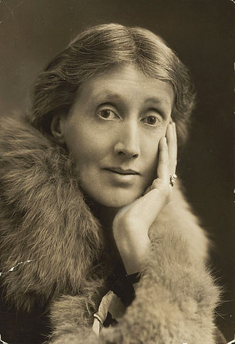 Fitzrovia - Portrait of Virginia Woolf (1927). Woolf lived in Fitzroy Square 1907–1911