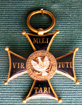 Virtuti Militari Cross from November Uprising 1831