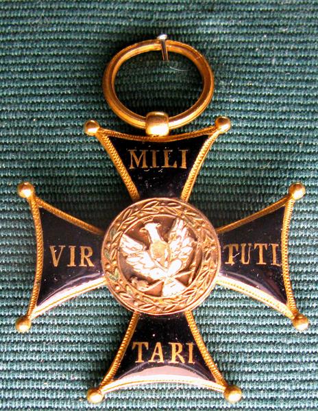 Plik:Virtuti Militari Cross from November Uprising 1831.png