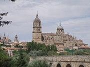 Vista de la Catedral de Salamanca.JPG