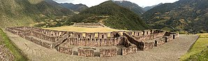 Manco Inca Yupanqui - Image: Vitcos Rosaspata (panorámica)