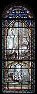 Vitrail de Sainte Philomène - Église Notre-Dame-de-la-Salette (Paris).jpg