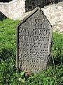 Vlachovo Březí, židovský hřbitov, náhrobky, 06.jpg