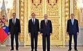 Vladimir Putin with Ambassadors to Russia (2018) 19.jpg