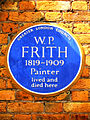 W.P. FRITH 1819-1909 Painter lived and died here.jpg