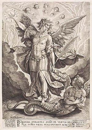 Hieronymus Wierix - 1584 Artwork by Hieronymus Wierix.