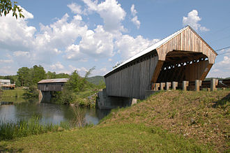 North Hartland, Vermont - Willard Covered Bridge