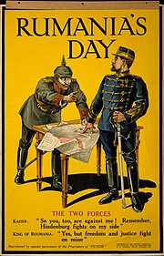 WWI Poster Rumania