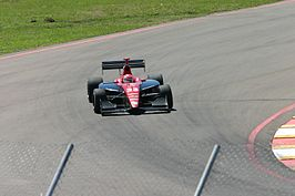 Cunningham op het Stratencircuit Saint Petersburg in 2005
