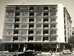 Wahbi al-Hariri - The 1964 Lawyers Association Credit Union, in Aleppo, was al-Hariri's last major project in Syria.