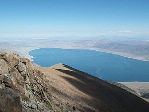 Mineral County, Nevada - Walker Lake Recreation Area, a popular scenic attraction