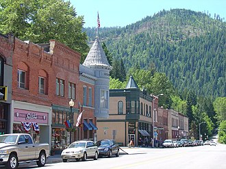 Wallace, Idaho - Buildings in Wallace's historic district