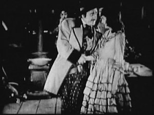 Walter Long (actor) - Walter Long and Carol Dempster in Scarlet Days (1919)