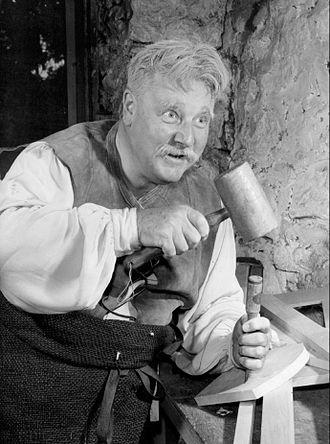 Walter Slezak - Slezak as Mister Geppetto, 1957