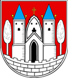 Das Wappen von Jessen (Elster)