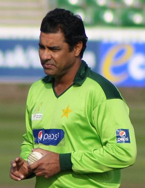 Waqar Younis - Younis in 2010.