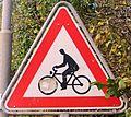 Warning crossing Cyclists 01.JPG