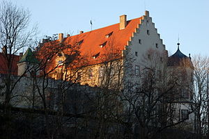 Schloss Warthausen - Schloss Warthausen close-up in 2008