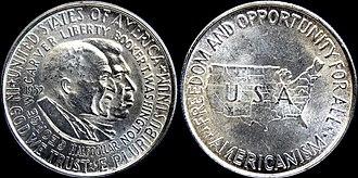 Carver-Washington half dollar - Washington-Carver half dollar (1952)