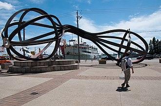 Monk (season 1) - Image: Waterfront Sculpture Toronto 2010