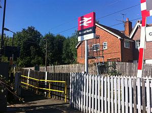 Watford North railway station - Image: Watford North entrance