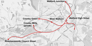 Watford and Rickmansworth Railway railway line