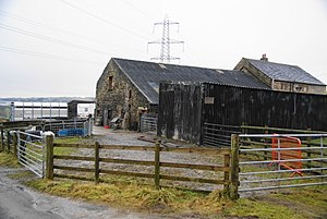 Listed buildings in Hapton, Lancashire - Image: Watson Laithe Farm
