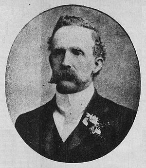 "Alumni Athletic Club - Alexander Watson Hutton, considered the ""father"" of Argentine football."