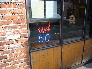 wd~50 former restaurant in New York City