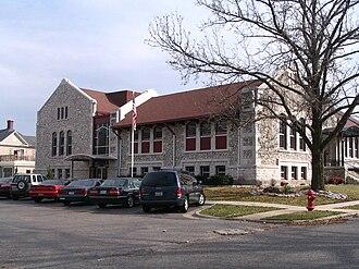Webb City, Missouri - Image: Webb City Public Library