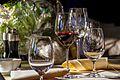 Weinglaeser im Oeschberghof Restaurant - panoramio.jpg