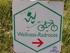 Deutsch: Logo der Wellness-Radroute Sonstiges: ...