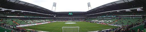 Weserstadion panorama