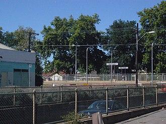 West Croydon railway station, Adelaide - West Croydon station in 2008