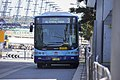 Westbus (mo 6051) Volgren 'CR228L' bodied Volvo B7RLE in Transport NSW livery on Olympic Boulevard at Sydney Olympic Park.jpg