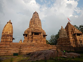 Khajuraho Group of Monuments - Western side.