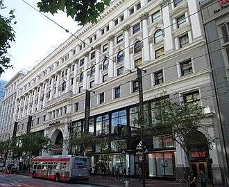 Westfield San Francisco Centre - Image: Westfield San Francisco Centre 845 Market Street
