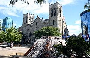 Westminster Presbyterian Church (Minneapolis) - Image: Westminster Presbyterian Minneapolis 20050927