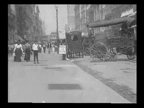 Datei:What Happened on Twenty Third Street New York City (1901) - yt.webm