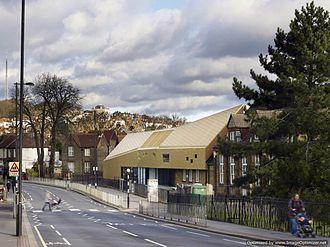 Whitehorse Manor Junior School - Image: Whitehorse Manor Schools looking North