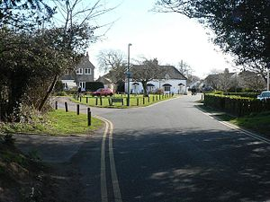 Wick, Bournemouth - Image: Wick the green geograph.org.uk 719504