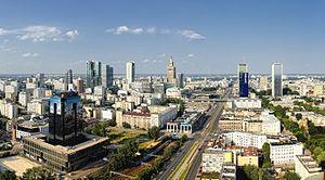 Śródmieście, Warsaw - Panorama