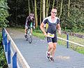 Wielrenner en hardloper triathlon Spijkenisse.jpg