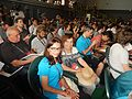 Wikimania 2016 opening ceremony, ArmAg (7).jpg
